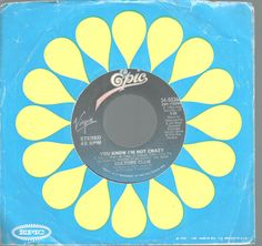 Culture Club You Know I'm Not Crazy, Want To Hurt Me 45 RPM Record Epic Records #1970s1980s