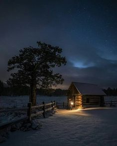 Snow Cabin, Cozy Cabin, Winter Night, Winter Snow, Cabin Lighting, Big Bear Lake, Winter Scenery, Nature Aesthetic, Cabins And Cottages