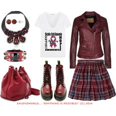 """""""SICKLE CELL AWARENESS Contest: """"Inheritance"""""""" by enjoyzworld on Polyvore"""