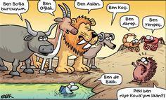 Okurken Kahkaha Atacağınız Eğlenceli Karikatürler