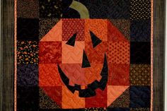 Pumpkin quilt. This would be easy enough.