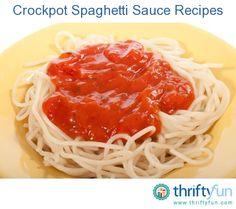 ... Pinterest | Marinara sauce, Spaghetti and Slow cooker spaghetti sauce