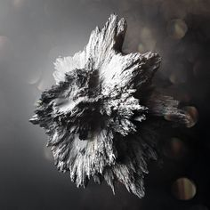 Crystalised Asteroïds by Chaotic Atmospheres , via Behance