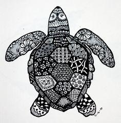 Zendoodle Turtle <3