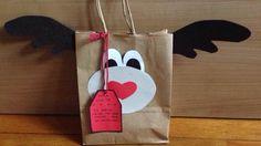 Bolsa decorativa navideña para regalar
