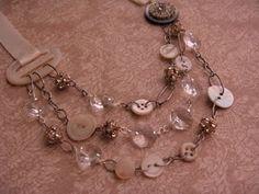 Fashion Me Fabulous: Project Design: Button Jewelry