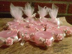 Velas decorativas - souvenir ideales para decorar y regalar.