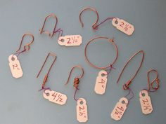 Ear wires. These measurements are so valuable.