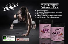 THE SYSTEM™ provides active athletes an optimal blend of vitamins, minerals and nutrients; at the precise time the body needs them. THE SYSTEM™ is a revolutionary supplement series delivering the necessary nutritional supplement before, during, after and in-between high-energy workouts.  Experience Higher Intensity Workouts, Recover Faster, Increase Energy Levels, Compliant with the World Anti-Doping Agency Testing Standard, Banned Substance Free, 100% Money Back Guarantee