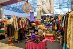 Uno de los stands de la IV Moda Shopping Vintage #4MSvintage