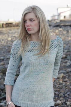 I'm signing off with Salted - a flattering sweater knitting pattern by lovely Alicia Plummer, with just the perfect amount of detail to make this a timeless piece.  Thanks for having me here on the board today - I hope you enjoyed the journey with me! ♥