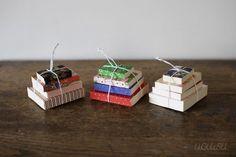 """MAME-BON"" Tiny Washi Notebooks (Set of 4) made in Japan #notebook #diary #stationary #notizbuch #tagebuch #papier #notizbuchblog"