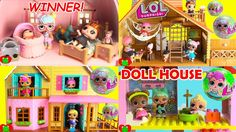 Lol Surprise Doll Mansion Really Big House Full Of