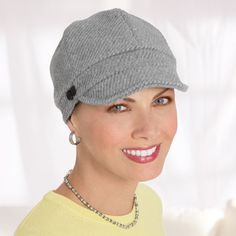 Conductor Hats, Headwear For Cancer Patients, Chemo Hats, Cancer Patients Hats - TLC
