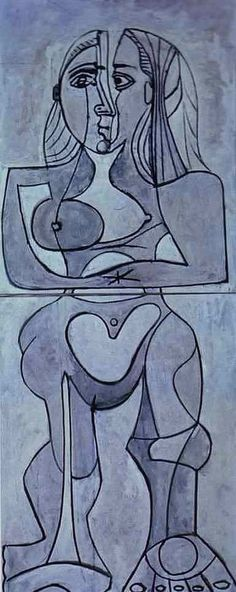 Pablo Picasso, Monolithic Nude, 1958