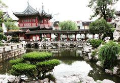 The magnificent Yu Garden of Shanghai  #garden