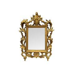 Pre Owned Italian Gilt Neo Baroque Mirror GBP750 Liked On