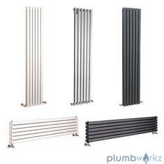 Modern Designer Vertical/Horizontal Radiator Central Heating Column Panel Rad in Home, Furniture & DIY, Heating, Cooling & Air, Radiators | eBay!