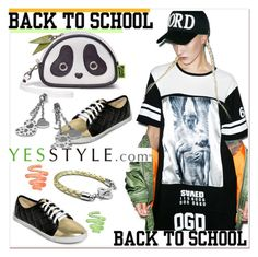 """back to school 2"" by paculi ❤ liked on Polyvore featuring yeswalker, Morn Creations, Kamsmak and GREEN"