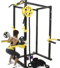 Jaula funcional o crossfit para gimnasios profesionales. Perfectos para personal training o entrenamientos de crossfit...
