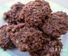 No Bake Cookies---This recipe as it reads does not work.  Instead of 2 1/2 cups of oats you need 3-31/2 cups.  At 2 1/2 the cookies do not set up.