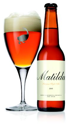 Goose Island Matilda 7%    An amazing tasting beer that is a little pricey but worth every penny.