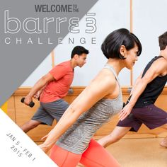 Join our New Year's Challenge with barre3!