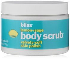 Bliss Lemon + Sage Polish Body Scrub