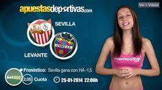 Pronóstico para el Sevilla vs. Levante (jornada 21 liga BBVA) #apuestas