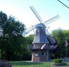 Dutch Windmill in Waupun, Wisconsin