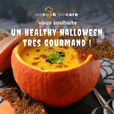 Happy Healthy Halloween à tou(te)s ! 🎃  Pour l'occasion, nos diététiChefs vous ont concocté des recettes aussi terrifiantes que gourmandes ! 🧙♀️  Et vous, c'est quoi votre recette d'horreur préférée ? 👻  #halloween #happyhalloween #recettes #healthy #gourmandise #plaisir #enfant #wecook #cuisine Healthy Halloween, Occasion, Blog, Horror, Greedy People, Children, Kitchens, Blogging