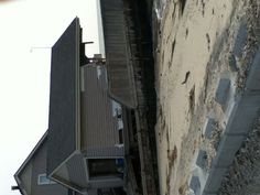Hurricane Sandy victimized houses... 10x sadder in person:(