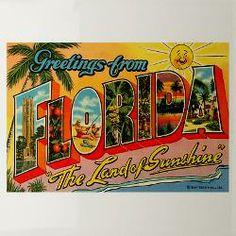 Florida Souvenirs Dog Bowls, Florida Souvenirs Cat Bowls, Florida Souvenirs Pet Bowls for Food & Water - #CafePress.com