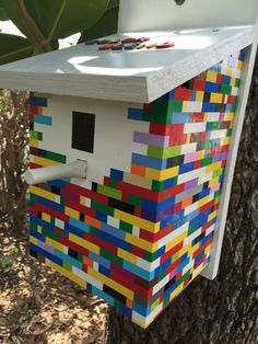 This is a Lego gadget cache. You have to count specific colors to access the lock on the cache.