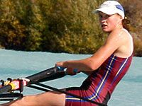 Louise Livesey attended Lincoln University on a rowing scholarship.
