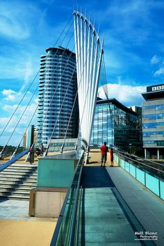 Media City in Manchester by Matt Blonc on 500px