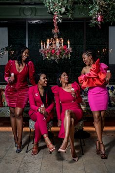 Don't know what Galentine's Day is or why you should celebrate it? This post highlights what you need to know about and why you should celebrate it Black Girl Magic, Black Girls, Black Women, Brown Skin Girls, Black Pride, Fashion Beauty, Womens Fashion, Winter Fashion, Dress Up