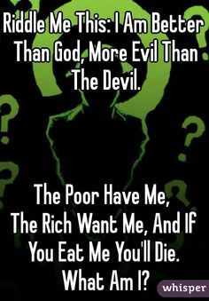 Image result for riddler's riddles