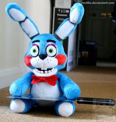 Five Nights At Freddy's Toy Bonnie Plush by Roobbo on Etsy