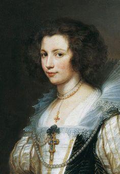 VAN DYCK Sir Antoon van Dyck - Flemish (Antwerpen 1599-1641 Londen) ~ Portrait of a Lady