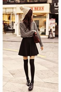 The best clothing items are the items that you can transition in between seasons.  Your favorite summer skirts can easily become winter
