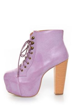 Check it out from Lulus.com! As Seen On Shelby from Brilliant In Bows blog!! Get in on the cult classic that's totally blog-worthy! The Shoe Republic LA Step Purple Lace-Up Platform Ankle Boots are the hottest booties in town, in burnished lavender vegan leather with a rockin' lace-up front featuring coated shoestrings, and brass grommets and hooks. Double seams at toe. Hidden 2