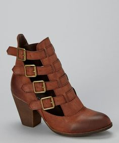 Loving this Cognac El Paso Boot on #zulily! #zulilyfinds I was going to buy these but they didn't have these in my size!