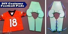 DIY Football pads2