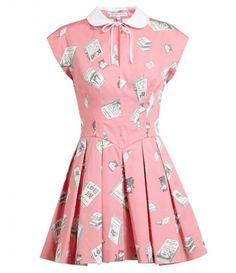 Book Printed Cotton Dress