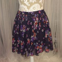 Floral print Skirt American Eagle Floral Print skirt American Eagle Outfitters Skirts Circle & Skater