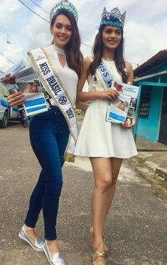 Miss world and Miss Brazil
