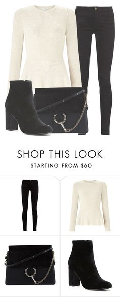 """Outfit #1647"" by lauraandrade98 on Polyvore featuring Gucci, Miss Selfridge, Chloé and Witchery"