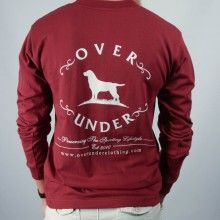 Original Logo Long Sleeve Tee - Burgundy