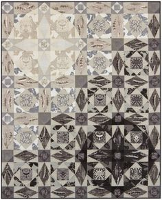 = free pattern = Storm at Sea quilt by Better Off Thread for Robert Kaufman.  Featured at Quilt Inspiration: Storm-at-Sea Quilts, free block diagrams and patterns